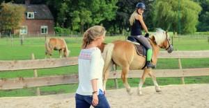 ontspannen paardrijden
